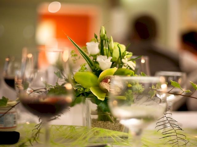 Hochzeitsdekoration  Raumdekoration  Tischdekoration